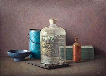 Still life painting by Adolf Geudens
