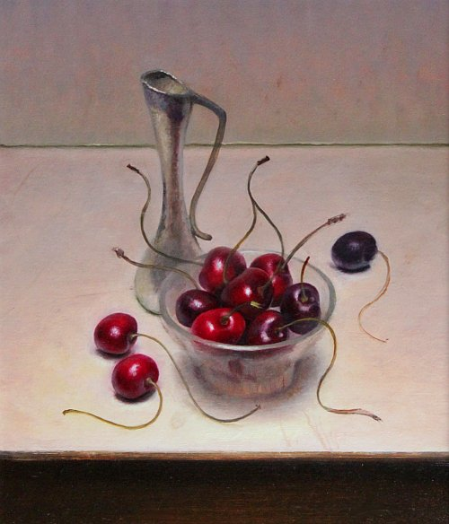 Still life with cherries, 2011