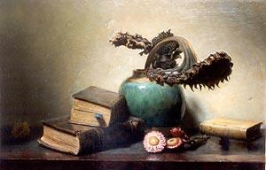 Still life painting by Jan Eversen