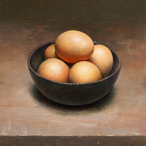 Still life with eggs, 2010